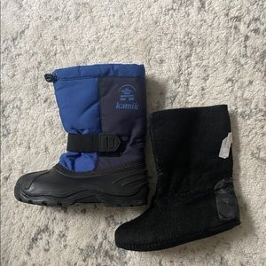 KAMIK Size 1 Boots Removable Insert